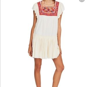 Free People Day Glow Mini Dress NWT